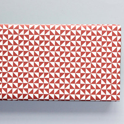 Kaffe Print in Mulberry Red Gift Wrap / 2 Sheets Ola