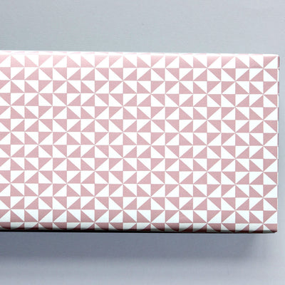Kaffe Print in Clay Pink Gift Wrap / 2 Sheets Ola