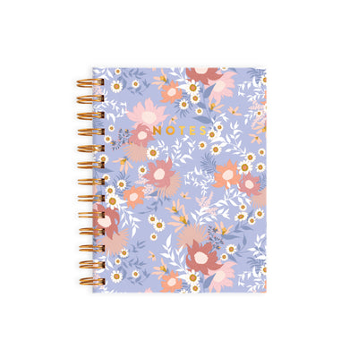 Floribunda Pocket Spiral Notebook Fox & Fallow