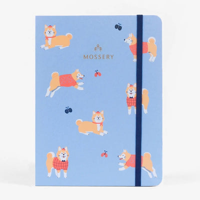 Shiba Royal Threadbound Notebook Mossery