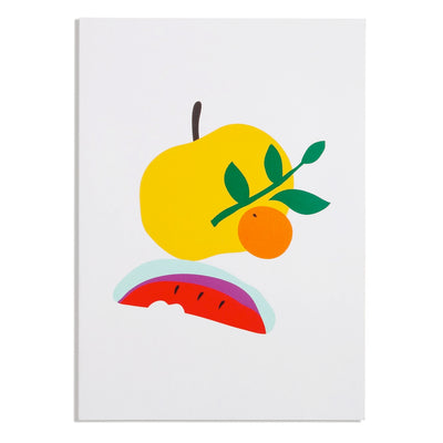 Simple Lined Notebook in Tangerine Poketo