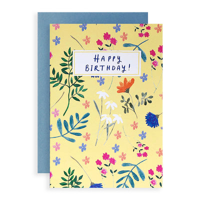 Summer Meadow Birthday Card Peggy & Kate
