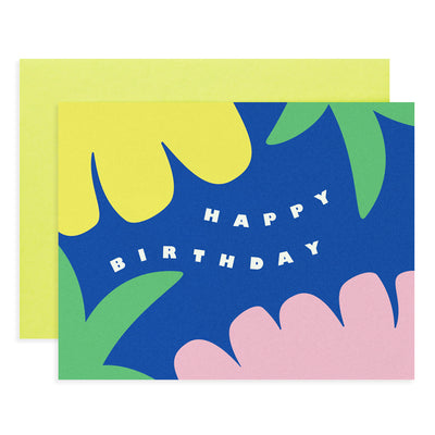 Tropical Birthday Card My Darlin'