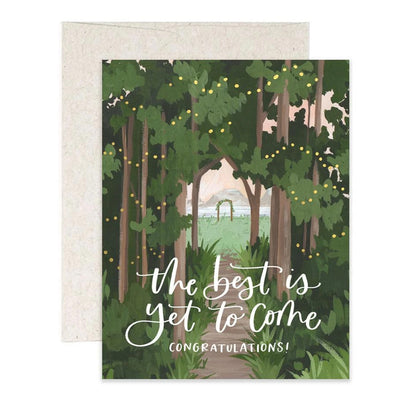 Wedding Woods Card 1canoe2