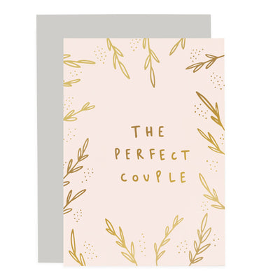 The Perfect Couple Blush Pink Card Old English Company