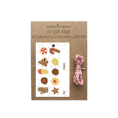Christmas Cookies Holiday Gift Tags Set of 10 The Beautiful Project