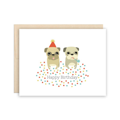 Funny Pug Birthday Card The Beautiful Project