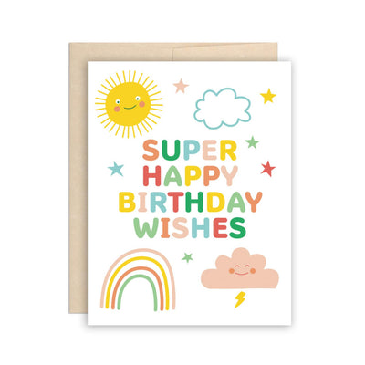 Super Happy Birthday Wishes Card The Beautiful Project