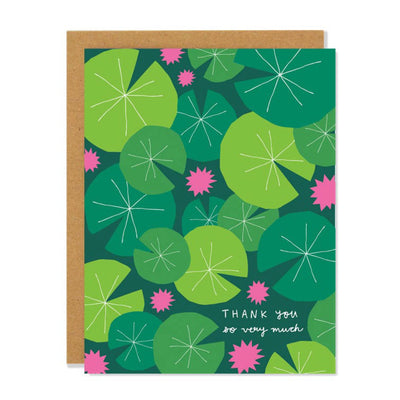 Lilypad Thank You Card Badger & Burke