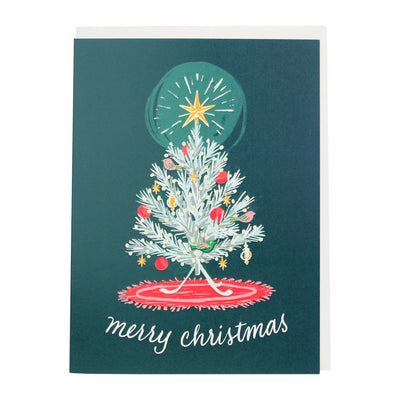 vintage tree christmas cards