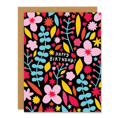 Meadow Happy Birthday Card Badger & Burke