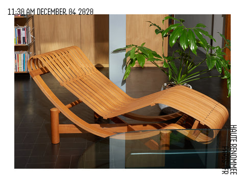Charlotte Perriand, chaise longue 522 Tokyo
