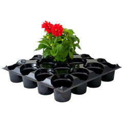 "rEarth 17"" Carry Tray for 16-4"" Rnd. Pots (Case of 100)"