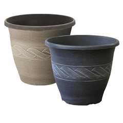 "12"" Augusta Upright Color Planter (Case of 34)"