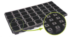 40 Sq Cell Plug Trays-JMCAPT40W