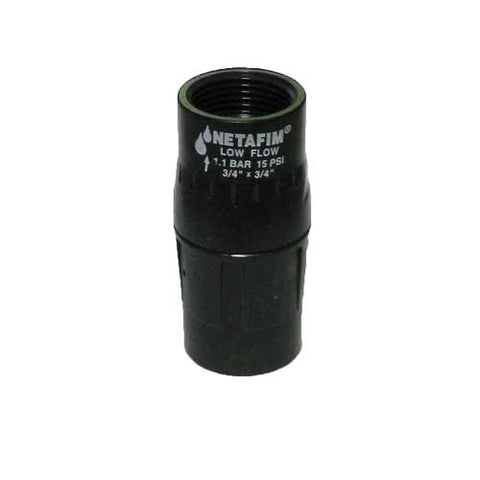 "Netafim 3/4"" Low Flow 15 PSI Regulator"