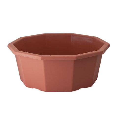 "10 Sided 14"" Color Bowl (Case of 56)"