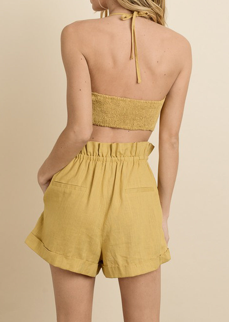 Hang Loose Short - Golden