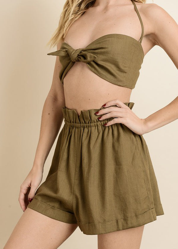Hang Loose Short - Olive