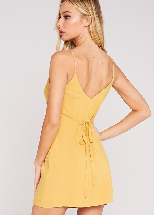 Easy Day Dress - Mustard