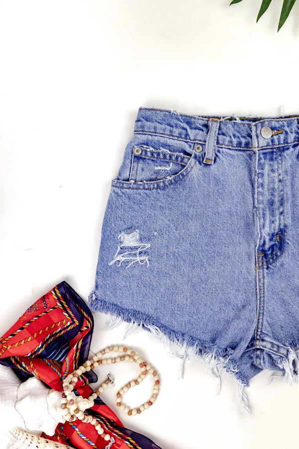 Faded Glory High Waisted Denim 26""