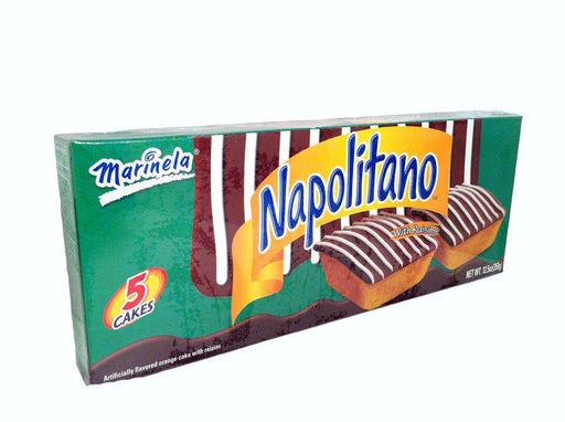 MarinelaMarinela Napolitano Orange Flavored Cakes 5ct | ZocaloFoods.com