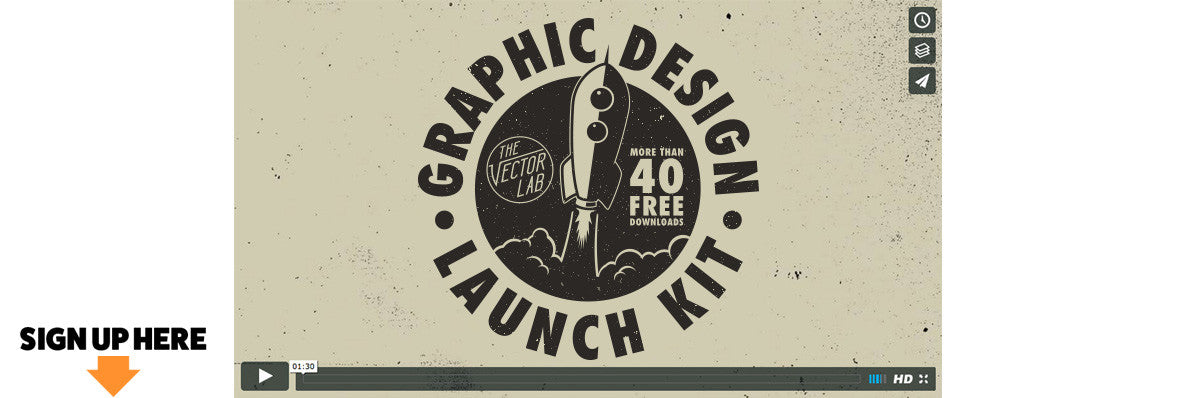 Graphic Design Launch Kit - TheVectorLab Newsletter