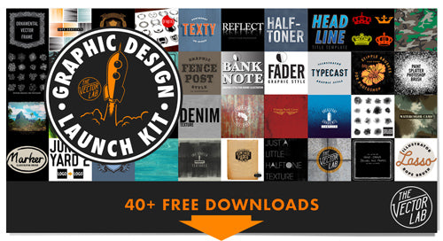 Free Graphic Design Launch Kit Downloads - TheVectorLab
