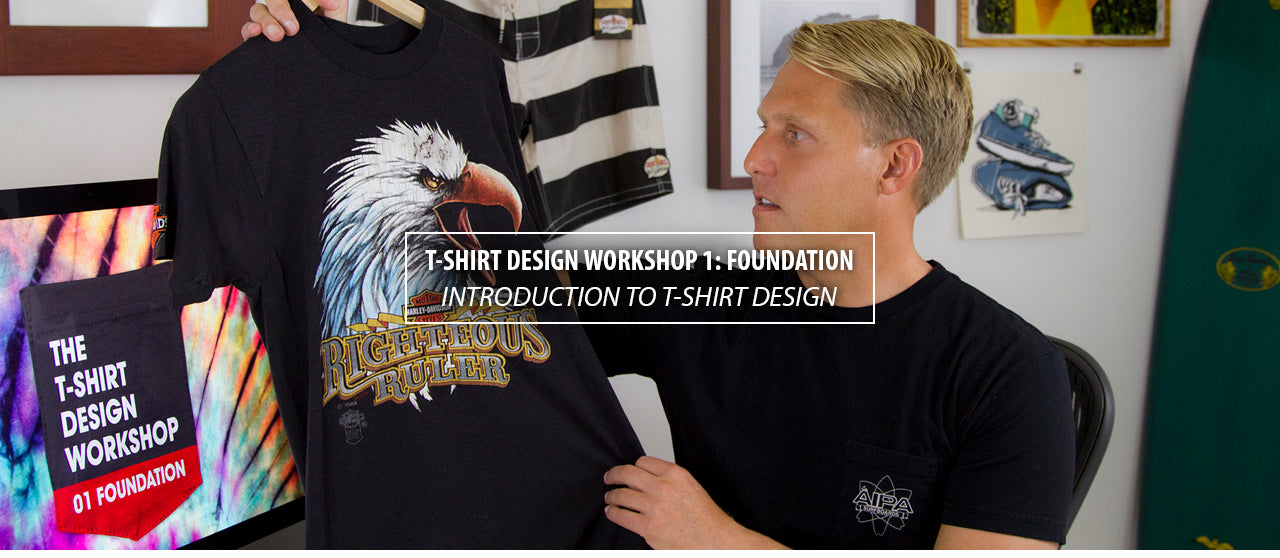 T-Shirt Design Workshop 01