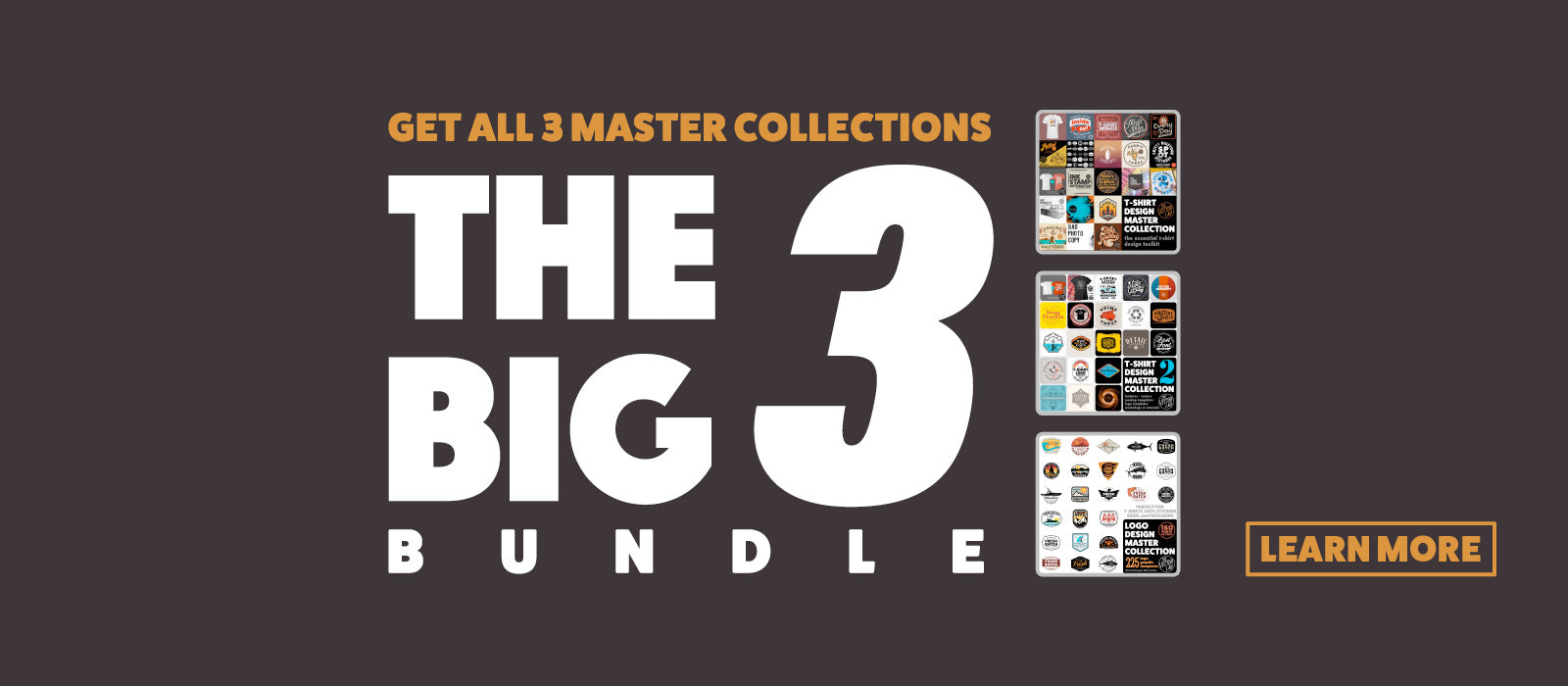 Big 3 Bundle - Master Collections for T-Shirt Design