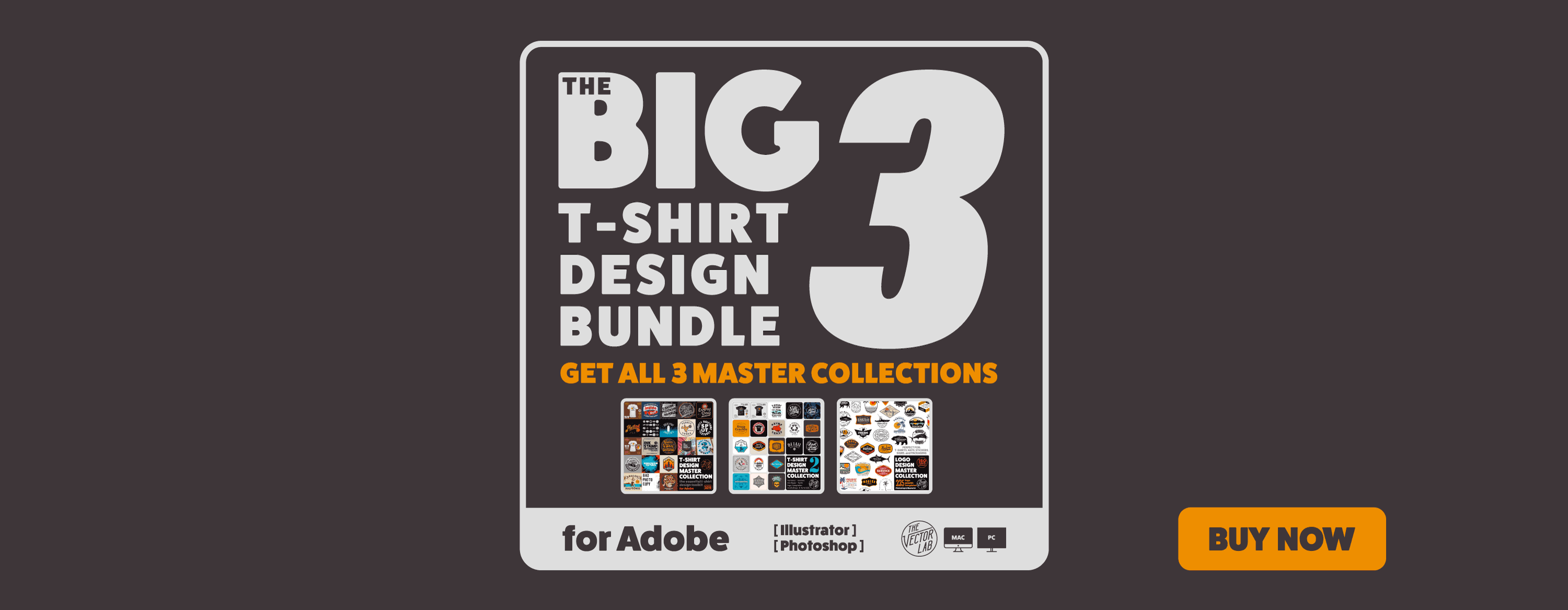 Get all 3 Master Collections: The Big 3 Bundle for Adobe