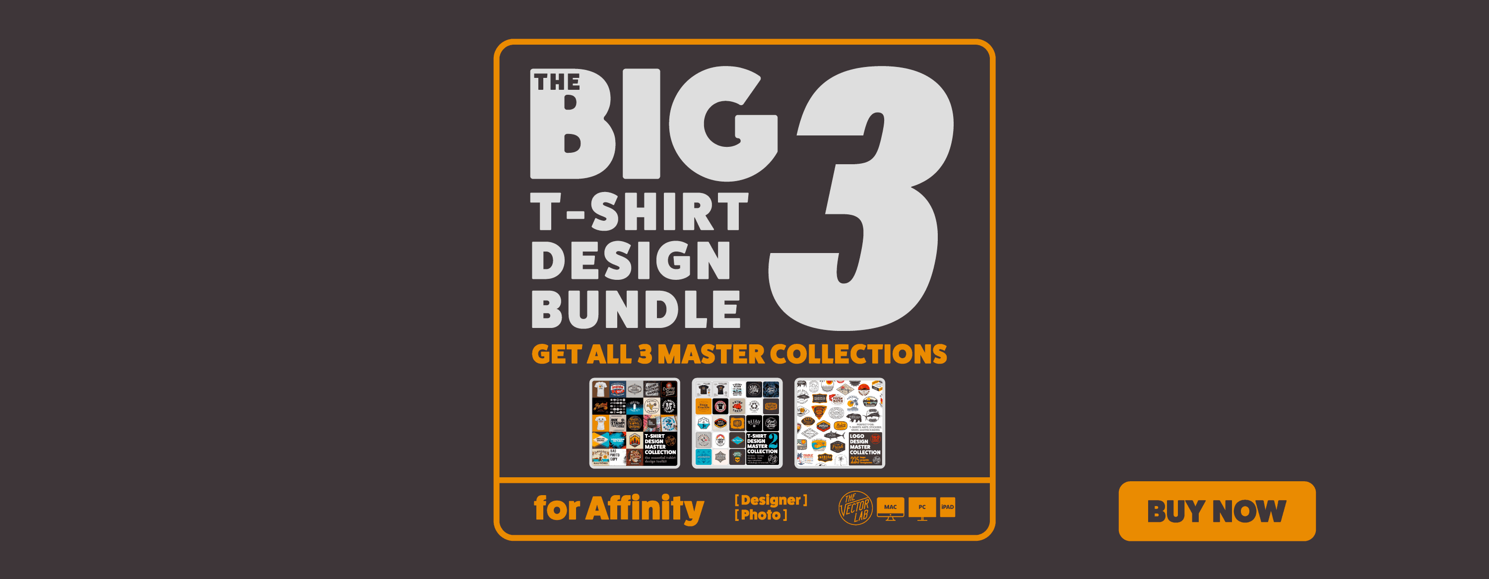 Get all 3 Master Collections: The Big 3 Bundle for Affinity