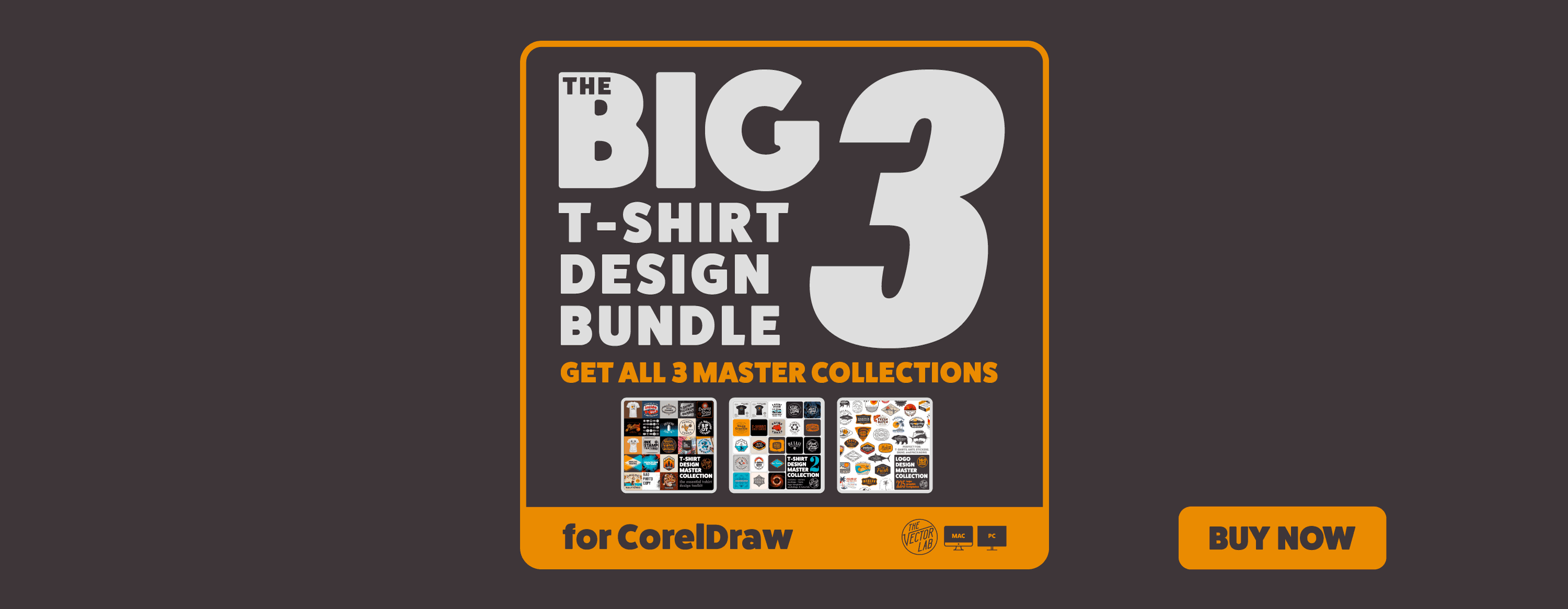 Get all 3 Master Collections: The Big 3 Bundle for CorelDraw