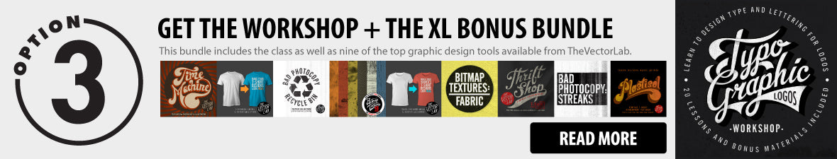 Typographic Logos Workshop XL Bundle