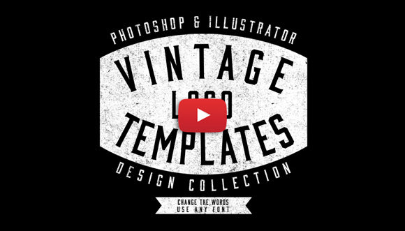 A Collection Of 25 Logo Templates That Are Easy To Customize Color And Edit Each Has Live Type So You Can Effortlessly Change The Font Wording