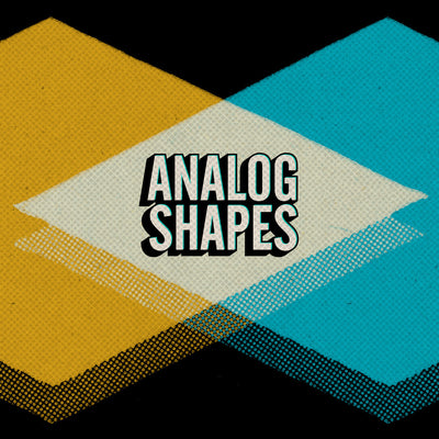 Analog Shapes for Photoshop and Illustrator