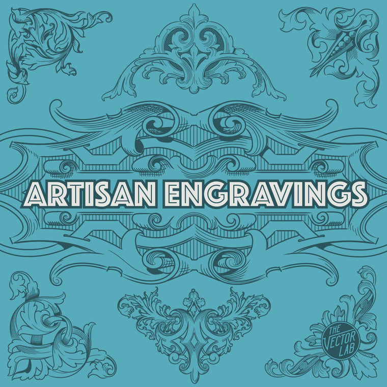 Artisan Engravings - Ornamental Banknote Vector Illustrations
