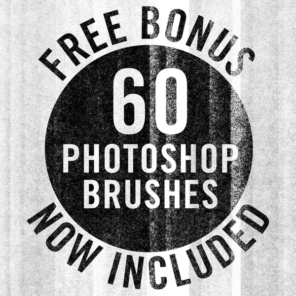 Photocopy Photoshop brushes