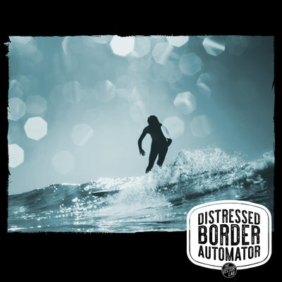 Surfer - Distressed Border Automator for Photoshop from TheVectorLab