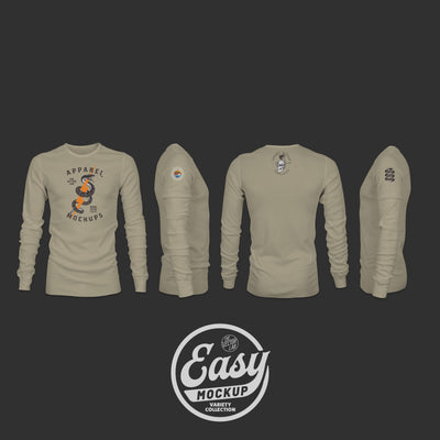 Easy Mockup - Thermal Apparel Templates