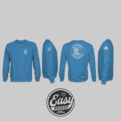 Easy Mockup - Sweatshirt Apparel Templates
