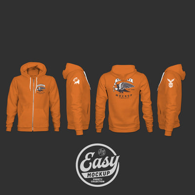Easy Mockup - Hoodie Apparel Templates