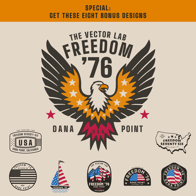 Freedom 76 Bonus Graphics