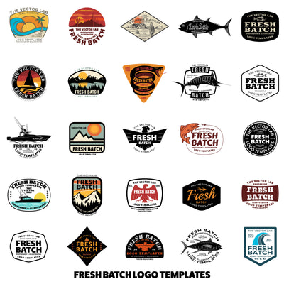 Logo Design Master Collection - Fresh Batch Logo Templates