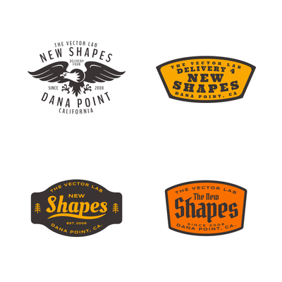 Graphic and Logo Bundle Vol 2 for Adobe Illustrator and Photoshop
