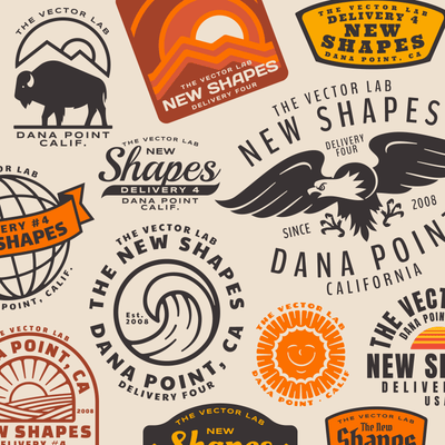 Graphic & Logo Bundle Vol.2 for Adobe Illustrator & Photoshop