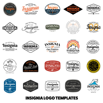 Insignia Logo Templates - Logo Design Master Collection