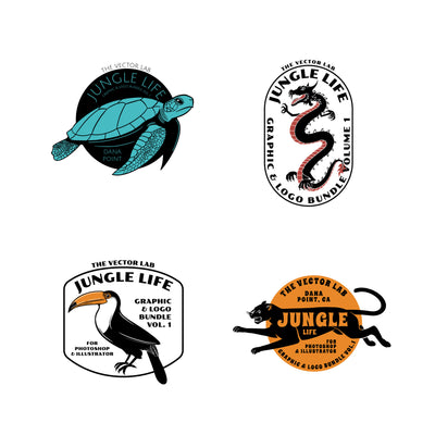 Jungle Life Graphics and Logos