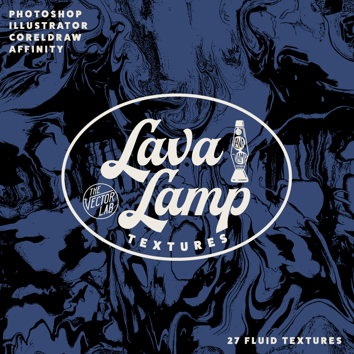 Lava Lamp - Liquid Textures for Photoshop and Illustrator