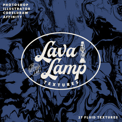 Lava Lamp - Liquid Patterns & Textures for Photoshop and Illustrator